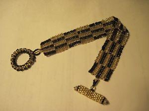 【送料無料】ブレスレット アクセサリ― ゴールドシードビーズブレスレットファッションジュエリートグルクラスプサイズ