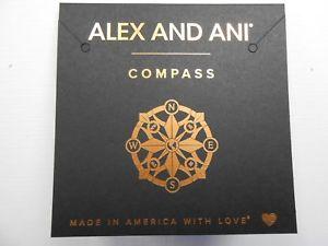 Alex and Ani 8-Point Star Bangle Rafaelian Gold NWTBC