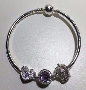 【送料無料】ブレスレット アクセサリ― ヨーロッパ925スターリングブレスレッツジュエリーeuropean 925 sterling silver charm bracelets jewelry