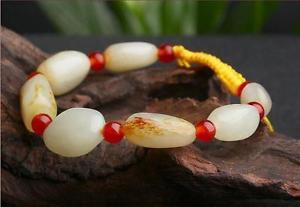 【送料無料】ブレスレット アクセサリ― マニュアルhetianアンクレットchina manual hetian jade bracelet stone beads anklets jade seed material