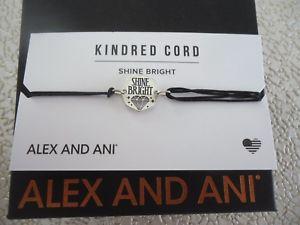 【送料無料】ブレスレット アクセサリ― アレックスプルコードブレスレットalex and ani shine bright pull cord bracelet w box