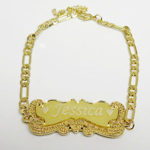 【送料無料】ブレスレット アクセサリ― 18kイェローゴールドidブレスレットmens18k yellow gold plated personalized id name bracelet mens leady