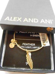 【送料無料】ブレスレット アクセサリ― アレックスアニsmall featherブレスレットrafaelianゴールドnwtbcalex and ani small feather expandable wire bracelet rafaelian gold nwtbc