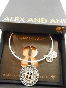 【送料無料】ブレスレット アクセサリ― アレックスブレスレットラファエリアンalex and ani numerology number 8 expandable bracelet rafaelian silver nwtbc