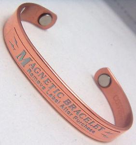 【送料無料】ブレスレット アクセサリ― ブレスレットウィーラーcopper amp; magnets bracelet wheeler arthritis healing folklore mystical cbm 115