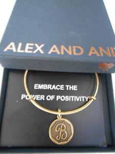 【送料無料】ブレスレット アクセサリ― アレックスブレスレットラファエリアンゴールドalex and ani initial b expandable bracelet rafaelian gold nwtbc