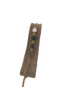 【送料無料】ブレスレット アクセサリ― トルコハンドメイドジュエリーパールヒスイラピスブロンズブレスレットturkish handmade jewelry pearl jade lapis labradorite bronze bracelet 220