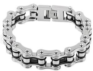 【送料無料】ブレスレット アクセサリ― クールハーレーバイカーインチステンレススチールバイクチェーンブレスレット116g cool 19mm bike chain bracelet for harley biker 88 inch 316 stainless steel