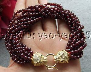 【送料無料】ブレスレット アクセサリ― ガーネットブレスレットs030309 9strds garnet bracelet