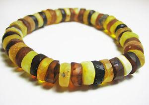 【送料無料】ブレスレット アクセサリ― バルトブレスレットマルチカラーnatural raw baltic amber bracelet multicolour
