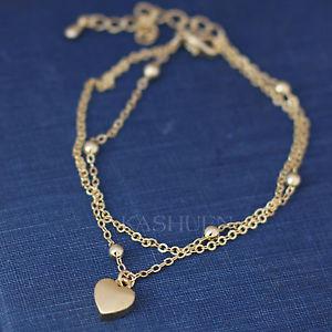 【送料無料】ブレスレット アクセサリ― ゴールドチェーンブレスレットバレンタインdainty tiny love heart mothers day gold tn 2 chain bracelet valentines jewelry