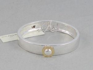【送料無料】ブレスレット アクセサリ― ケネスコールビードヒンジカフブレスレットドルkenneth cole polished silvertone geometric bead hinged cuff bracelet 40
