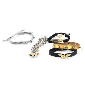 【送料無料】ブレスレット アクセサリ― ワンダーウーマンブレスレットwonder woman 5 bracelet set