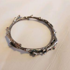 【送料無料】ブレスレット アクセサリ― シルバーブレスレッツtwig silver and copper bracelets