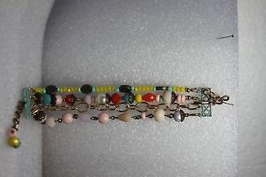【送料無料】ブレスレット アクセサリ― ブレスレットソフィアマルチカラービーズplunder bracelet sofia multicolored beaded 8 95 adj pb226