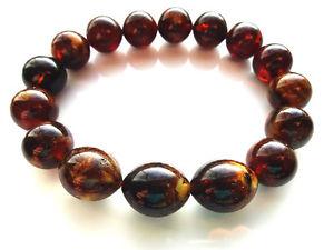 【送料無料】ブレスレット アクセサリ― バルトブレスレット207grmarble beads baltic amber bracelet 207gr