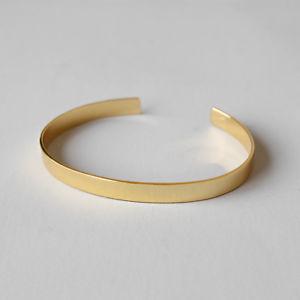 【送料無料】ブレスレット アクセサリ― シルバーkゴールドハンドメイドオープンブレスレットpure 925 silver 18k gold plated handmade adjusted simple open bracelet