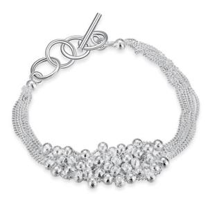 【送料無料】ブレスレット アクセサリ― ブレスレットkホワイトゴールドメッキバブルパールbracelet 18k white gold plated bubble pearl