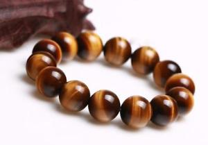 【送料無料】ブレスレット アクセサリ― ブレスレット14mmaaanatural yellow tigers eye gemstone charming beads bracelet 14mm aaa