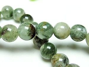 【送料無料】ブレスレット アクセサリ― 9mmラウンドブレスレットgift bl13489mm rare green phantom quartz crystal round beads bracelet gift bl1348