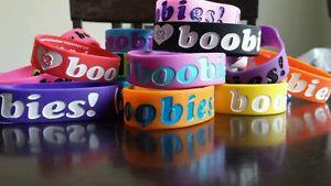 【送料無料】ブレスレット アクセサリ― ネオンブレスレットワウセットi love heart boobies huge lot with neon set 20 bracelets wow look