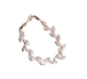 【送料無料】ブレスレット アクセサリ― オーストリアブレスレットbeautiful austrian crystal bracelet clear crystals adjustable length