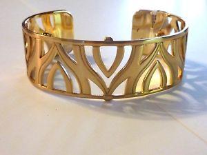 【送料無料】ブレスレット アクセサリ― ブライトンモスクワゴールドトーンカフブレスレットワイドボックスbrighton christo moscow gold tone cuff bracelet 1 wide  in box