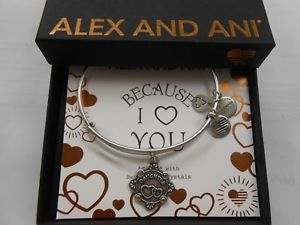 【送料無料】ブレスレット アクセサリ― アレックスブレスレットラファエリアンalex and ani because i love you daughter iii bracelet rafaelian silver nwtbc