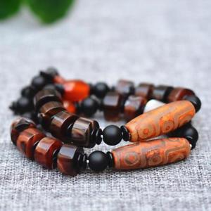 【送料無料】ブレスレット アクセサリ― dziブッダブレスレットnatural chalcedony dzi buddha bead bracelet