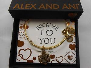 【送料無料】ブレスレット アクセサリ― アレックスブレスレットラファエリアンゴールドalex and ani because i love you friend iii bracelet rafaelian gold nwtbc