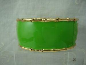 【送料無料】ブレスレット アクセサリ― ニューlistinglilly pulitzer neon green gold tone hingedwide 75bracelet listinglilly pulitzer neon green gold tone hinged wide