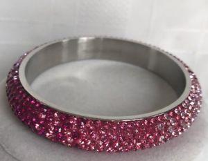 【送料無料】ブレスレット アクセサリ― パークレーンブレスレットステンレススチールピンクオーストリアpark lane headliner bracelet stainless steel pink hombre austrian crystals rv180