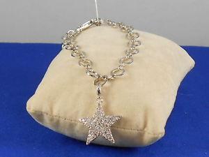 【送料無料】ブレスレット アクセサリ― パークレーンスターライトブレスレットjewels by park lane silvertone starlight pave star charm 7 12 bracelet