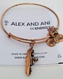 【送料無料】ブレスレット アクセサリ― アレックスアニブレスレットロシアゴールドalex and ani battleship expandable bracelet russian gold