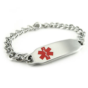 【送料無料】ブレスレット アクセサリ― myiddr womens  preblood typeidブレスレットmyiddr womens pre engraved blood type a alert id bracelet