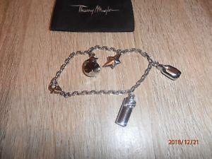【送料無料】ブレスレット アクセサリ― ティエリーシルバーブレスレットrare amp; unusual thierry mugler polished silver bracelet free delivery