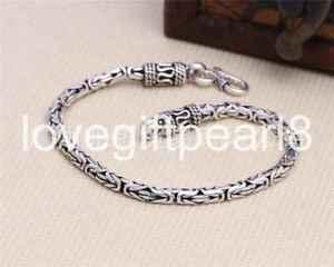 【送料無料】ブレスレット アクセサリ― スターリングシルバーレトロパターンブレスレットpure s925 sterling silver individuality retro pattern mans bracelet
