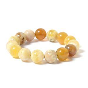 【送料無料】ブレスレット アクセサリ― ラウンドビーズイエローオパールブレスレット round, beads yellow opal bracelet cttw 215