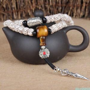 【送料無料】ブレスレット アクセサリ― シルクビーズブレスレットnatural blood silk bodhi108 buddhism bead bracelet