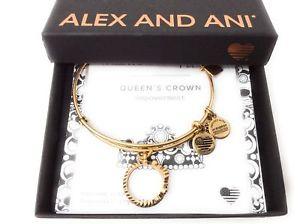 【送料無料】ブレスレット アクセサリ― アレックスクラウンブレスレットラファエリアンゴールドalex and ani queens crown bracelet rafaelian gold nwtbc spring 2017