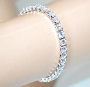 【送料無料】ブレスレット アクセサリ― テニスブレスレットシルバークリスタルラインストーンtennis bracelet silver woman crystal rhinestone glitter elegant bride 30x
