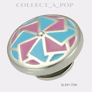 【送料無料】ブレスレット アクセサリ― スターリングシルバーauthentic kameleon sterling silver cotton candy jewelpop kjp750 *retired*