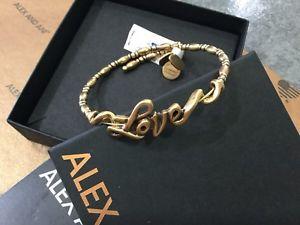 【送料無料】ブレスレット アクセサリ― アレックスアニブレスレットrafaelianalex and ani wrap bracelet rafaelian gold tone love retired