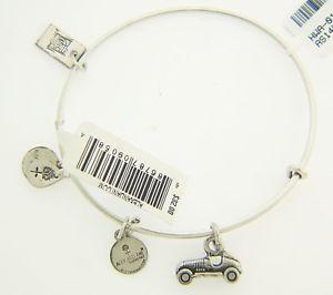 【送料無料】ブレスレット アクセサリ― アレックスペンダントブレスレットシルバー alex and ani monopoly car pendant bracelet rigid with silver finish