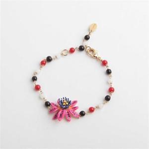 【送料無料】ブレスレット アクセサリ― レビーズブレスレットles nrides little passion flower beaded bracelet