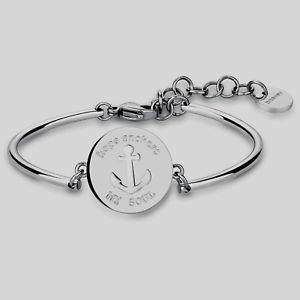 【送料無料】ブレスレット アクセサリ― ブレスレットチャクラモディファイbrosway, bracelet chakra, mod still in steel bhk38,