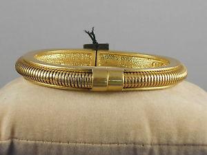 【送料無料】ブレスレット アクセサリ― ビンスバザールスネークチェーンヒンジカフブレスレットゴールドベルvince camuto gold belle of the bazaar snake chain inlay hinged cuff bracelet