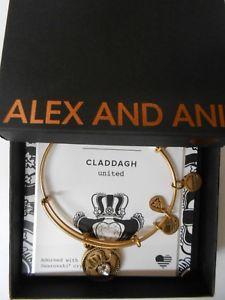 【送料無料】ブレスレット アクセサリ― アレックスッドクラダラファエリアンゴールドブレスレットタグボックスカードalex and ani claddagh rafaelian gold bracelet wtag box amp; card 2017