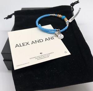 【送料無料】ブレスレット アクセサリ― アレックスビーズウッドビーズラップブレスレットビンテージnwt alex and ani turquoise blue bead and wood bead wrap bracelet vintage 66