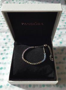 【送料無料】ブレスレット アクセサリ― マルチカラーブレスレットボックスmulti coloured sparkling strand bracelet 23cms in gift box genuine s925